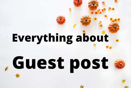 What is guest post submission?